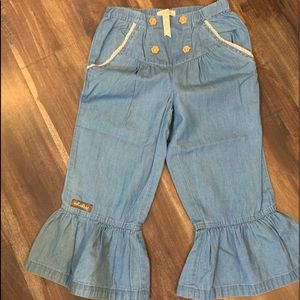 Denim Ruffles light weight